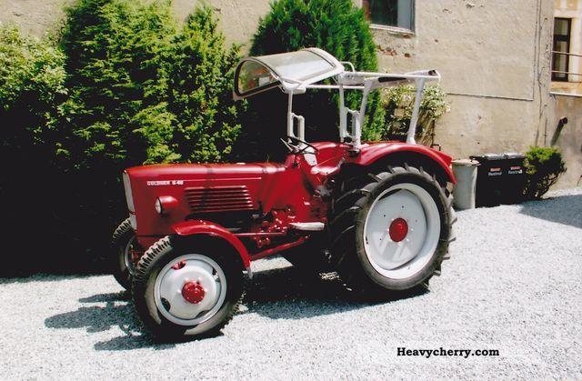 1965 Guldner  Güldner G40A Agricultural vehicle Tractor photo