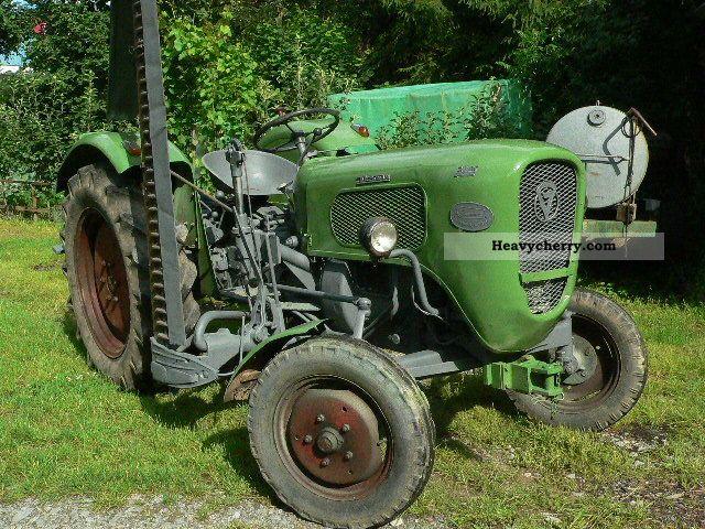 1961 Guldner  Güldner 20hp Agricultural vehicle Tractor photo