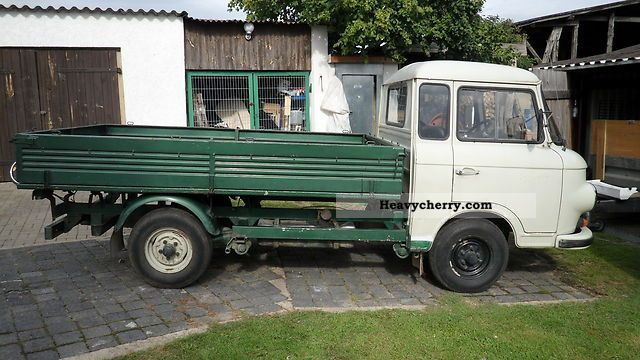 1988 Barkas  B 1000 Van or truck up to 7.5t Stake body photo