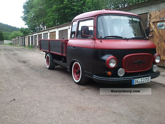 1987 Barkas  B1000 Van or truck up to 7.5t Stake body photo