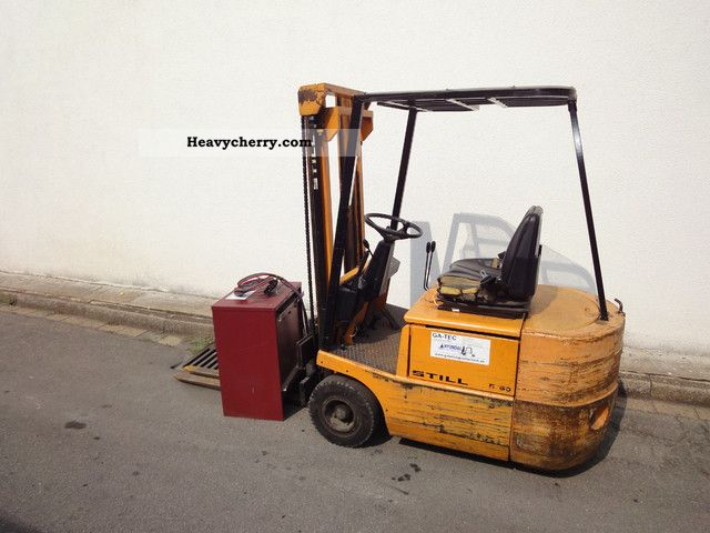 1987 Still  R50-15 Forklift truck Front-mounted forklift truck photo