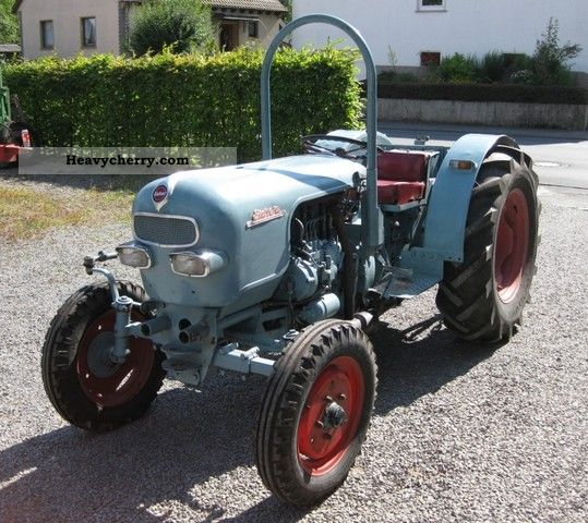 1966 Eicher  ES 400 Agricultural vehicle Tractor photo