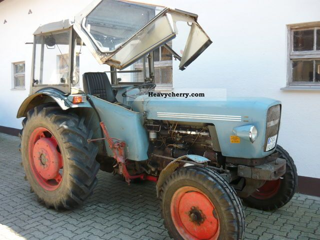 1975 Eicher  Mammut 3353 Agricultural vehicle Tractor photo