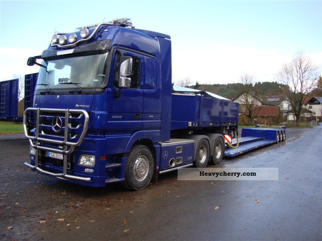 Doll 3 Axle Lowboy 2004 Low Loader Semi Trailer Photo And