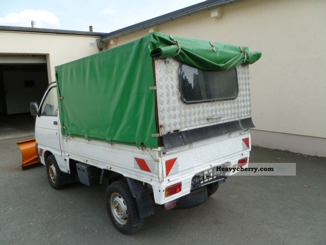 piaggio porter 4x4 winter peacock hu 02 14 2000 stake body and tarpaulin truck photo. Black Bedroom Furniture Sets. Home Design Ideas