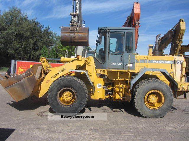 1996 Furukawa  335 ** Radlader/8700 hours/14.600 kg. ** Construction machine Wheeled loader photo