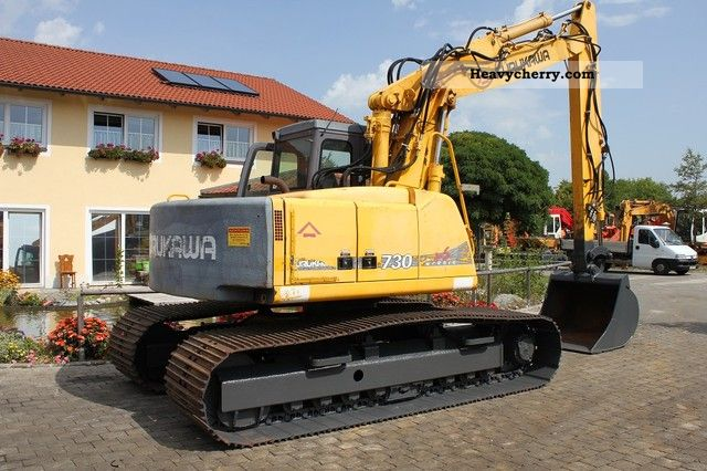 1998 Furukawa  730 Tronic Construction machine Caterpillar digger photo