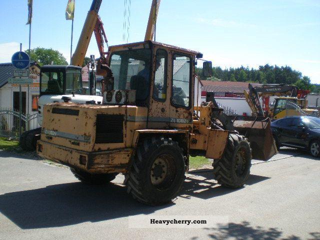 1995 Zettelmeyer  ZL 1002 i Construction machine Wheeled loader photo