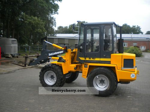 1995 Zettelmeyer  Type 702 wheel loader Construction machine Other substructures photo