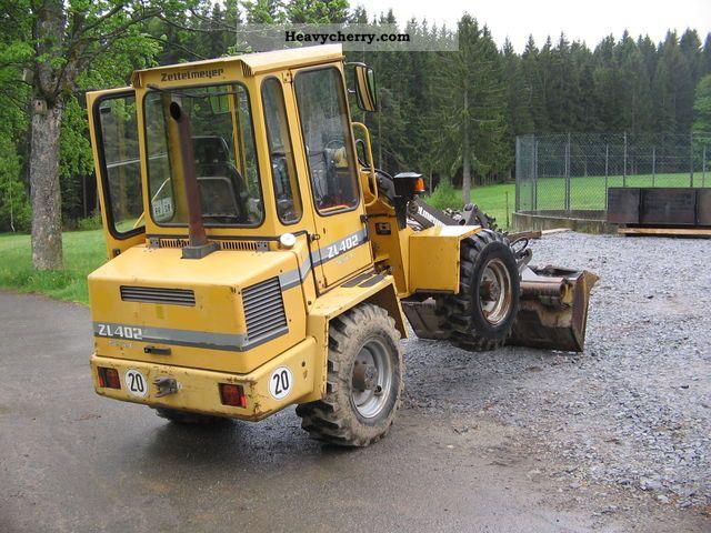 1997 Zettelmeyer  402 C Construction machine Wheeled loader photo
