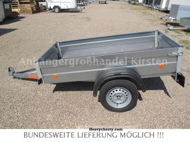 2012 Agados  Handy 3 NEW, 2.06 x1, 11x 0,35 m 750 kg aka STEEL Trailer Trailer photo
