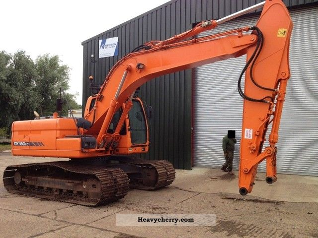 2007 Doosan  DX 180 LC Construction machine Caterpillar digger photo