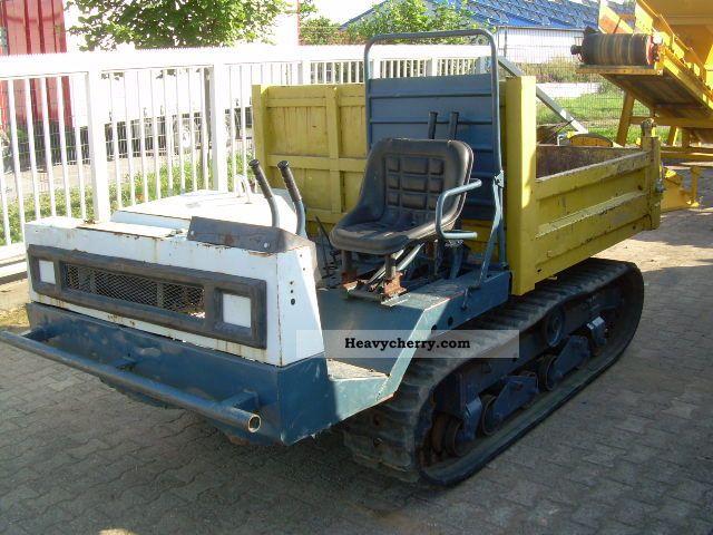 2012 Yanmar  C 30, tracked dump truck, dump trucks, dump, rubber Construction machine Other construction vehicles photo