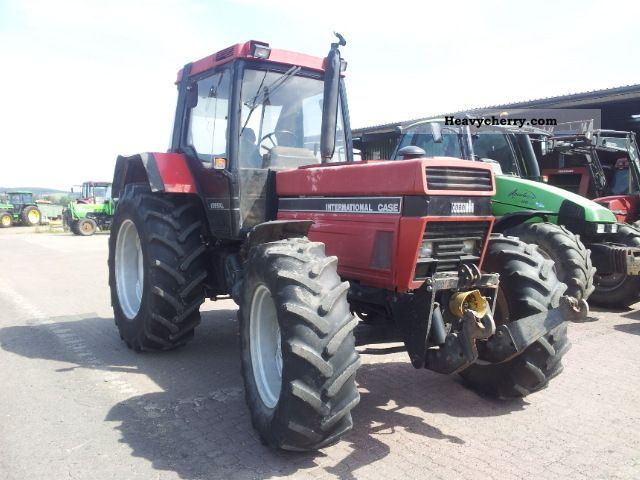 1989 Case  1255 XLA Agricultural vehicle Tractor photo