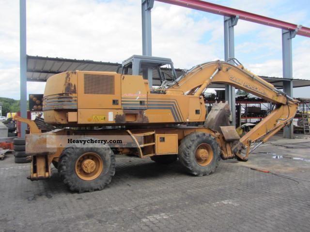 1998 Case  1188-P ** H ** Mobilbagger/4x Pratzen/7000 Construction machine Mobile digger photo
