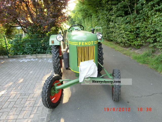 1956 Fendt  Dieselross Agricultural vehicle Tractor photo