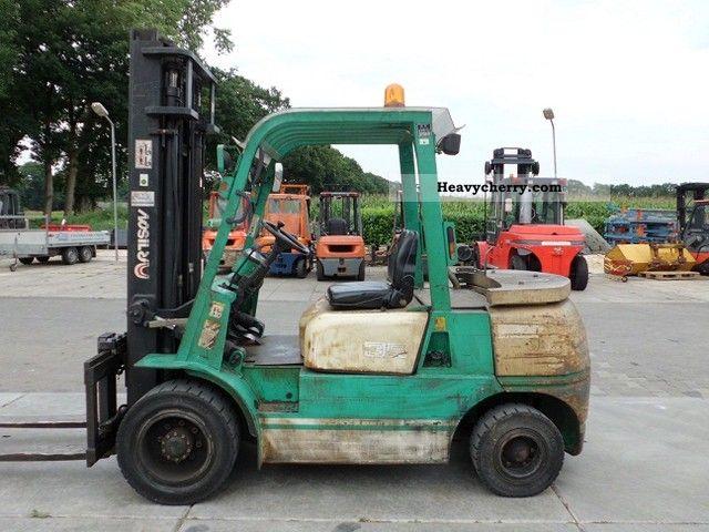 2002 Artison  FD35 Forklift truck Front-mounted forklift truck photo