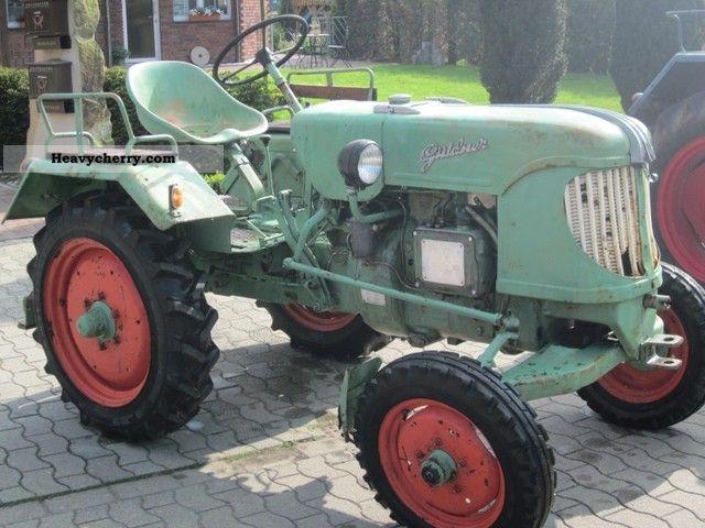 1954 Guldner  Güldner AF15C1 Agricultural vehicle Tractor photo
