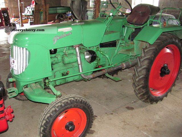 1954 Guldner  Güldner ADA 8H Agricultural vehicle Tractor photo