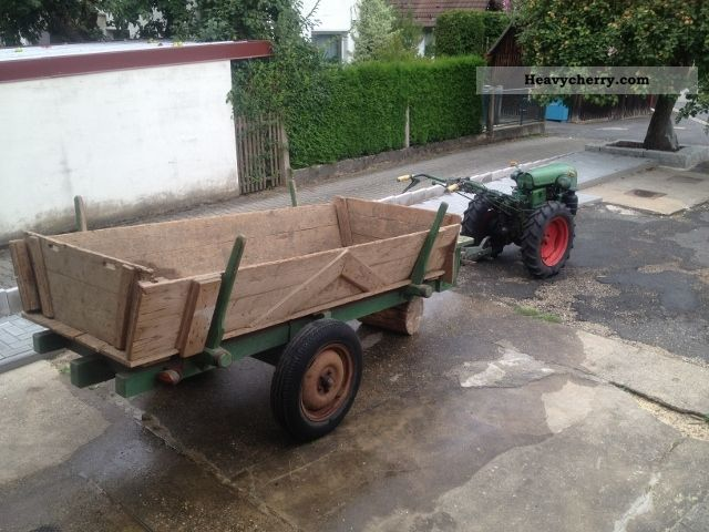 1960 Holder  D600L E12 Einachser Agricultural vehicle Other agricultural vehicles photo