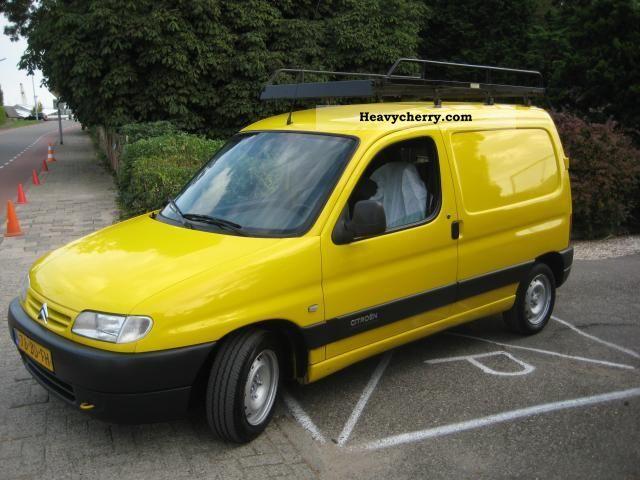 2002 Citroen  Citroën BERLINGO 1.9 D 51KW 121000km E1495 9-2002, 00 Van or truck up to 7.5t Other vans/trucks up to 7 photo