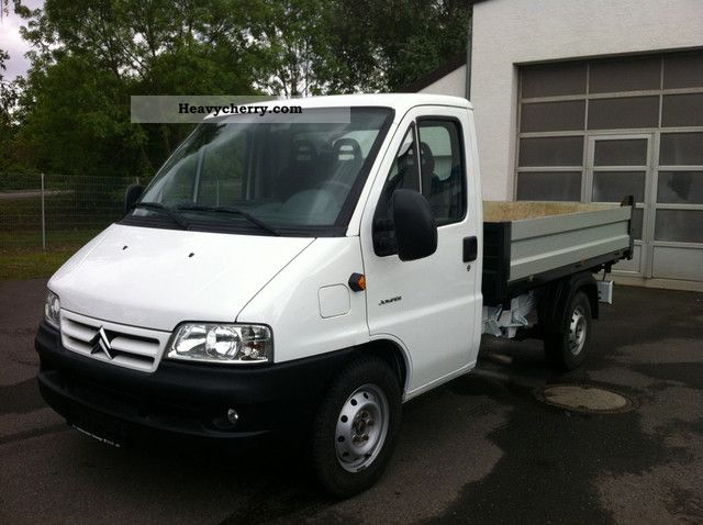 2004 Citroen  Citroën Jumper 2.8 HDI 3xSeitenkipper EURO3 Nutzl.1, 5T Van or truck up to 7.5t Stake body photo