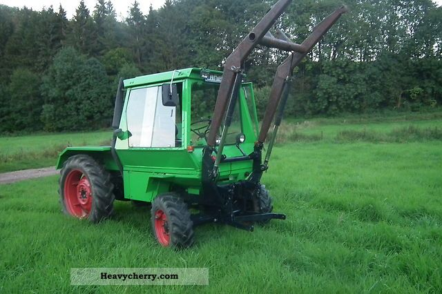 1975 Deutz-Fahr  Intrac Agricultural vehicle Tractor photo