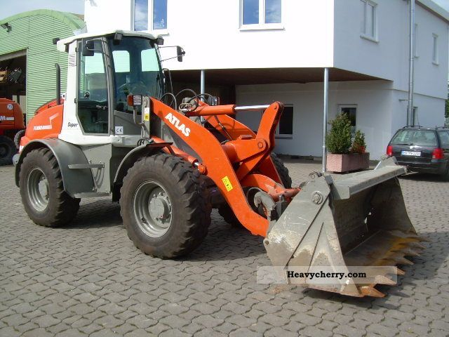 atlas ar 95 super air 40 km h klappsch fork 2010 wheeled loader construction equipment. Black Bedroom Furniture Sets. Home Design Ideas
