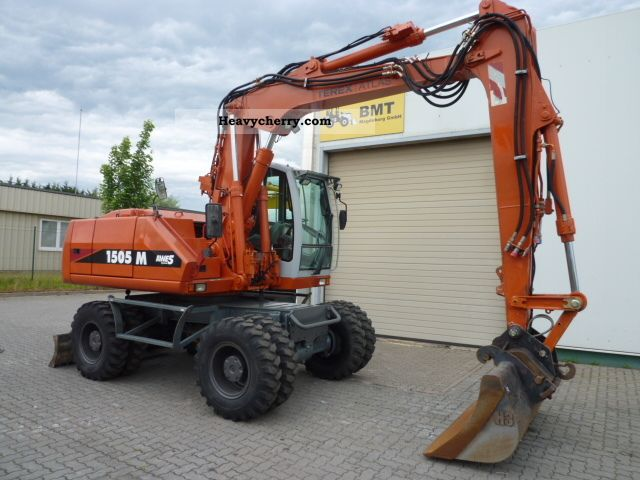 2006 Atlas  1505 incl hammerhydraulic Construction machine Mobile digger photo