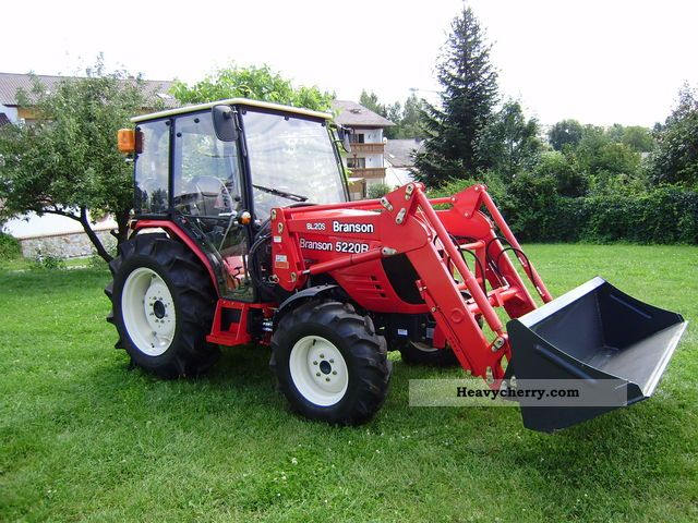 2012 Branson  5220 r / cx Agricultural vehicle Tractor photo