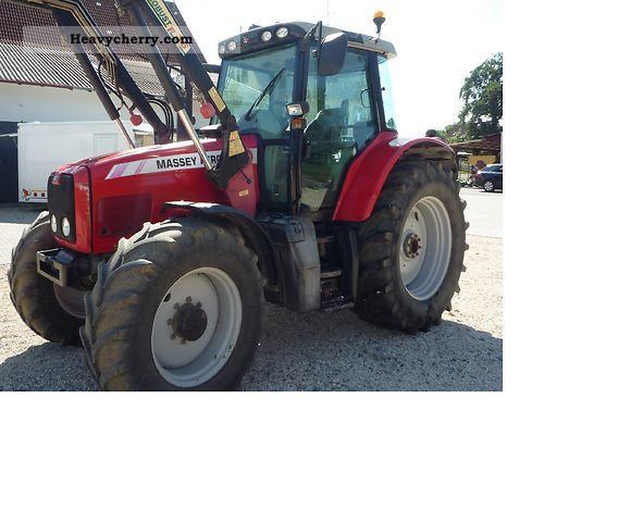 2004 Agco / Massey Ferguson  6475 Agricultural vehicle Tractor photo