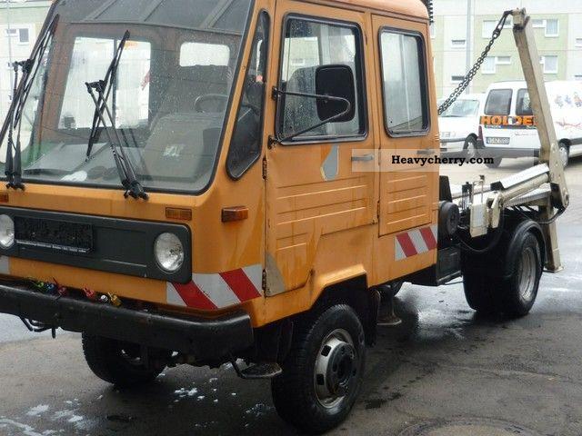 1994 Multicar  M26 4X4 local settler Van or truck up to 7.5t Dumper truck photo