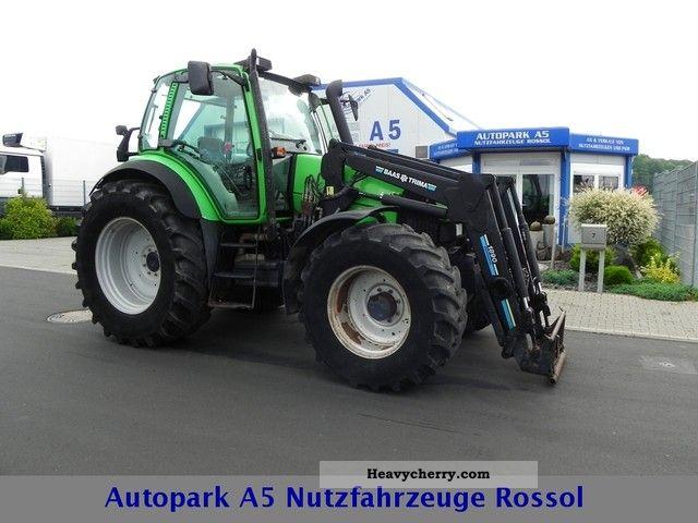 1996 Deutz-Fahr  6:45 Tractor Loader Air 50 km / h Agricultural vehicle Front-end loader photo