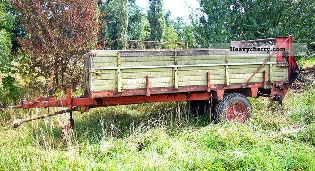 1979 Strautmann  Miststreuer Bastlerfahrzeug! Agricultural vehicle Fertilizer spreader photo