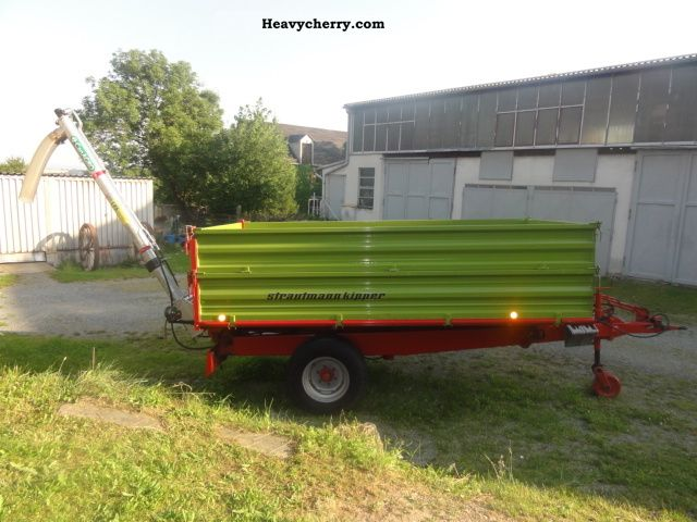 1993 Strautmann  SKE 55 with Can AGRO auger Agricultural vehicle Loader wagon photo