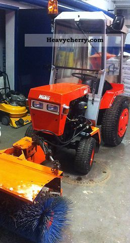 1982 Hako  Trac V490 Agricultural vehicle Other substructures photo