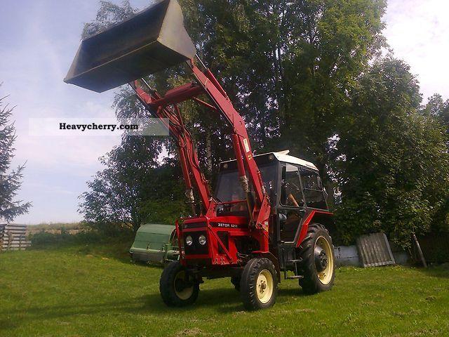 1990 Zetor  5211 z turem wspomaganie kierownicy 90r zobacz! Agricultural vehicle Tractor photo