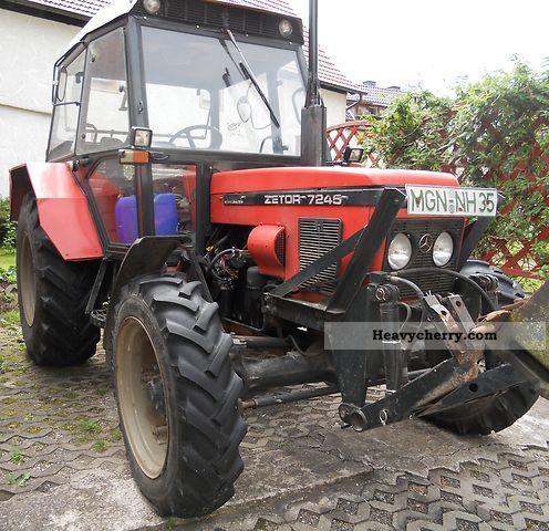 Zetor Horalsystem 7245 1987 Tractor photo