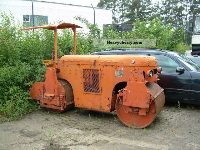 1975 Hamm  3.5 VTD vibratory roller Construction machine Rollers photo