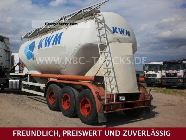 1983 Feldbinder  EUT 33.3 * SILO TRAILER * TUV TO 06/2013 Semi-trailer Silo photo
