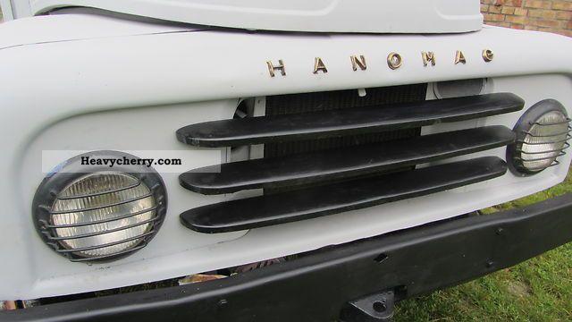 1963 Hanomag  AL 28 Van or truck up to 7.5t Box photo