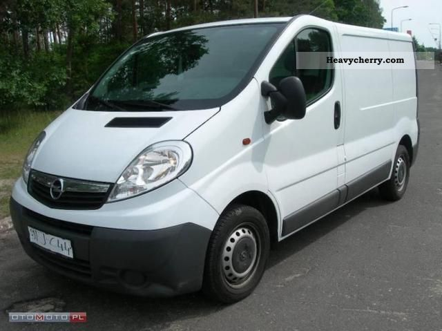 opel vivaro 2009 other vans trucks up to 7 photo and specs. Black Bedroom Furniture Sets. Home Design Ideas