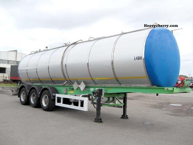 1996 Menci  Chemical tank 30.000 l - ADR - L4BH - 2.67 bar Semi-trailer Tank body photo