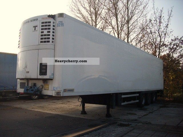 2002 Lamberet  LVFS3F Thermo King SL200e Semi-trailer Deep-freeze transporter photo
