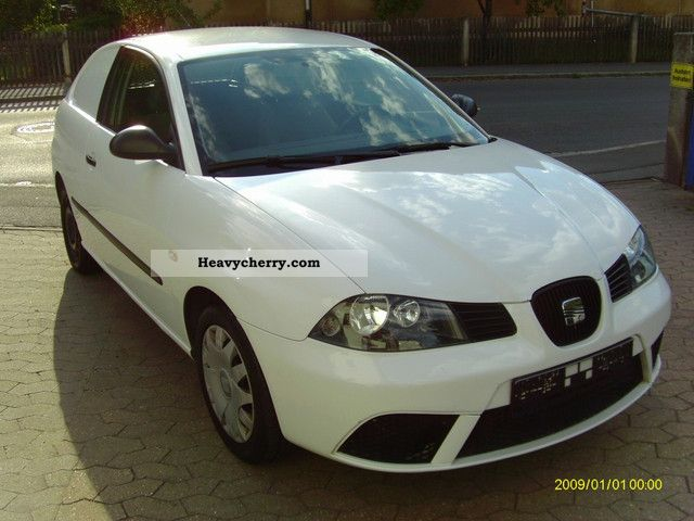 seat ibiza 1 4 tdi van truck air 2007 other vans trucks up to 7 photo and specs. Black Bedroom Furniture Sets. Home Design Ideas