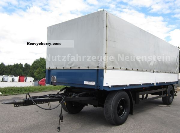wackenhut 1997 18t 2 axle trailer pick up canvas 80cm lift stake body services inc jobs