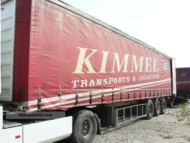 2000 Trailor  Firanka Semi-trailer Stake body and tarpaulin photo
