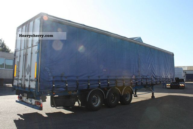 General Trailer Curtain Side Sliding Roof 2001 Other