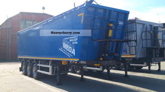 2012 MEGA  MNL 50 m3 - FABRYCZNIE NOWA Semi-trailer Tipper photo
