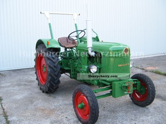 1960 Deutz-Fahr  D25 S * + * With hydraulic Tüv Agricultural vehicle Tractor photo